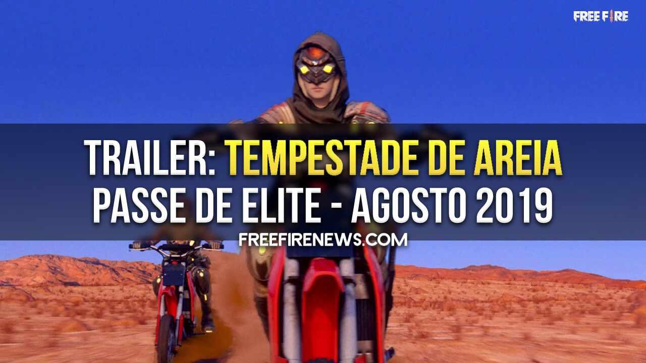 TRAILER: TEMPESTADE DE AREIA – PASSE DE ELITE 15