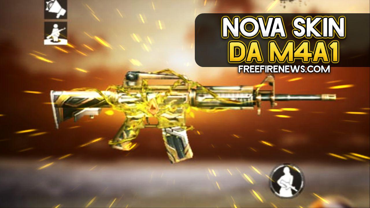 NOVA SKIN DA M4A1 – AREIAS ESCALDANTES