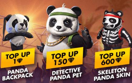 FESTA DE VERÃO: EVENTO DE RECARGA – PET PANDA, MOCHILA PANDA E SKIN DO PANDA!