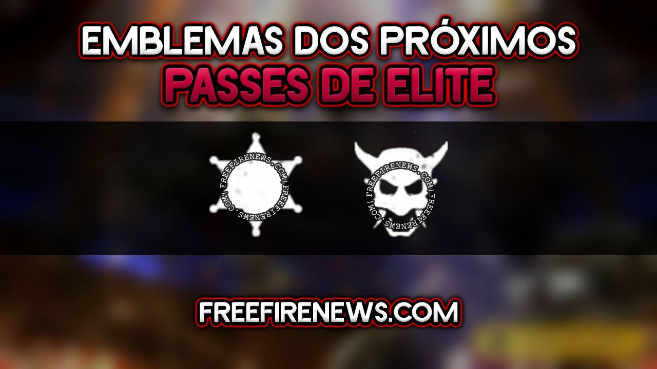 EXCLUSIVO: EMBLEMAS DOS PRÓXIMOS PASSES DE ELITE