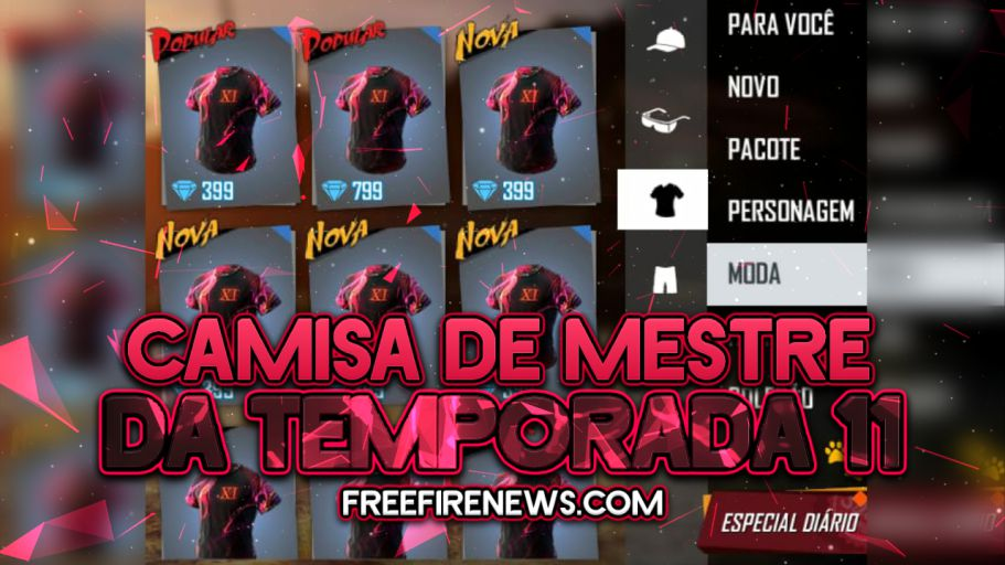 EXCLUSIVO: SKIN DE MESTRE DA TEMPORADA 11