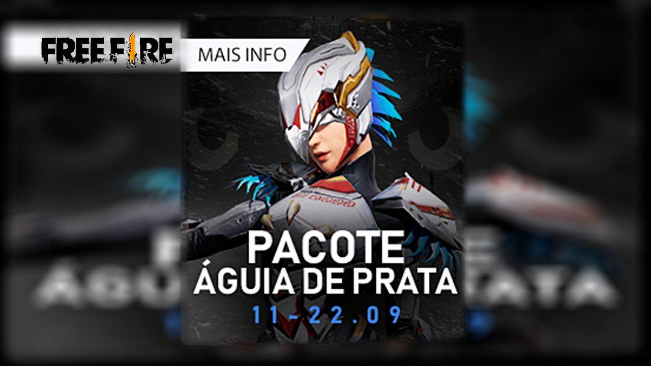 Novo Diamante Royale ÁGUIA DE PRATA no FREEFIRE