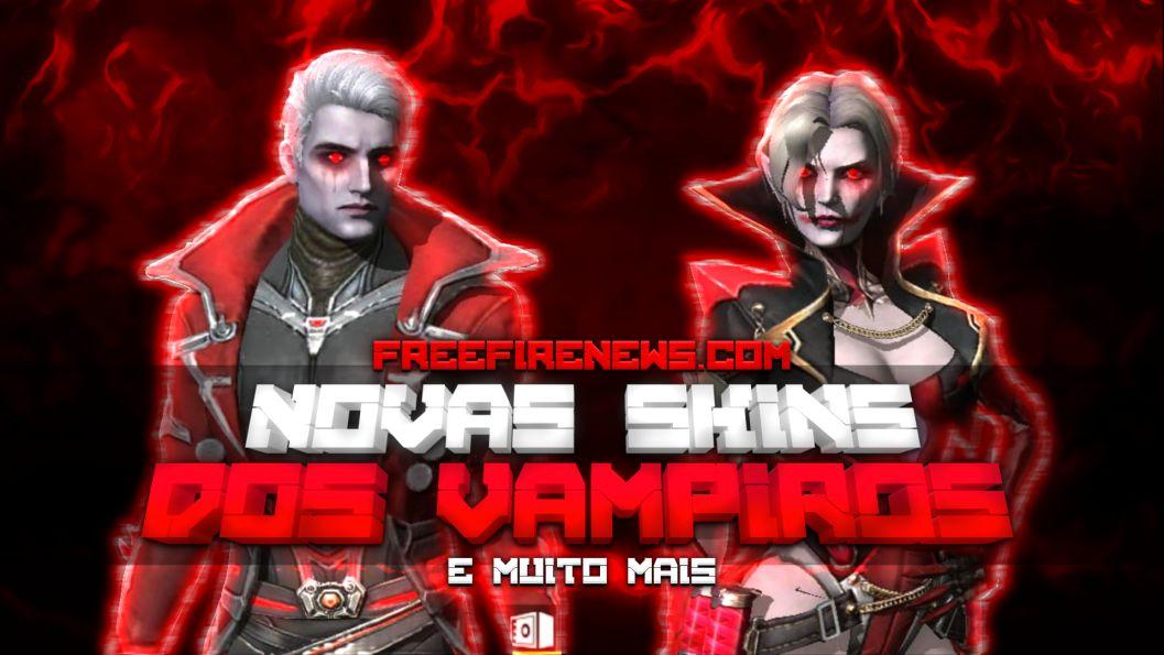 Veja as Skins de Vampiro do Free Fire