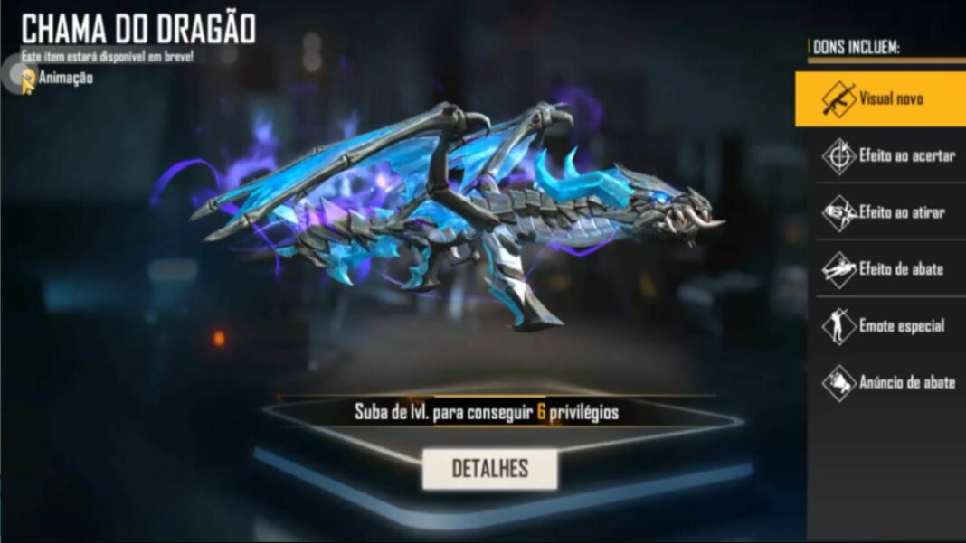 ak dragón llama
