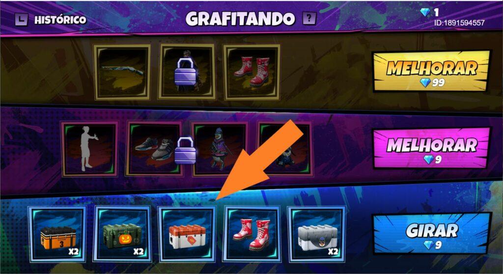 """graffiti free fire """"class ="""" wp-image-13503 """"srcset ="""" https://freefirenews.com/wp-content/uploads/2020/10/caixa_mega_desconto_grafizando_melhor-1024x558.jpg 1024w, https://freefirenews.com/wp -content / uploads / 2020/10 / Caixa_mega_desconto_grafizando_melhor-300x164.jpg 300w, https://freefirenews.com/wp-content/uploads/2020/10/caixa_mega_desconto_grafizando_melhor-768x419.jpg 768w, https://freefirenews.com/wp -content / uploads / 2020/10 / Caixa_mega_desconto_grafizando_melhor-696x379.jpg 696w, https://freefirenews.com/wp-content/uploads/2020/10/caixa_mega_desconto_grafitado_melhor-1068x582.jpg 1068w, https://freefirenews.com/wp -content / uploads / 2020/10 / Caixa_mega_desconto_grafizando_melhor-770x420.jpg 770w, https://freefirenews.com/wp-content/uploads/2020/10/caixa_mega_desconto_grafizando_melhor.jpg 1482w """"tamaños ="""" (ancho máximo: 1024px) 100vw , 1024px"""