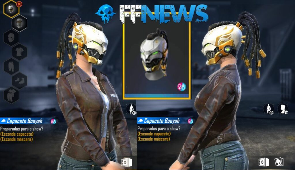 Capacete Booyah Free Fire