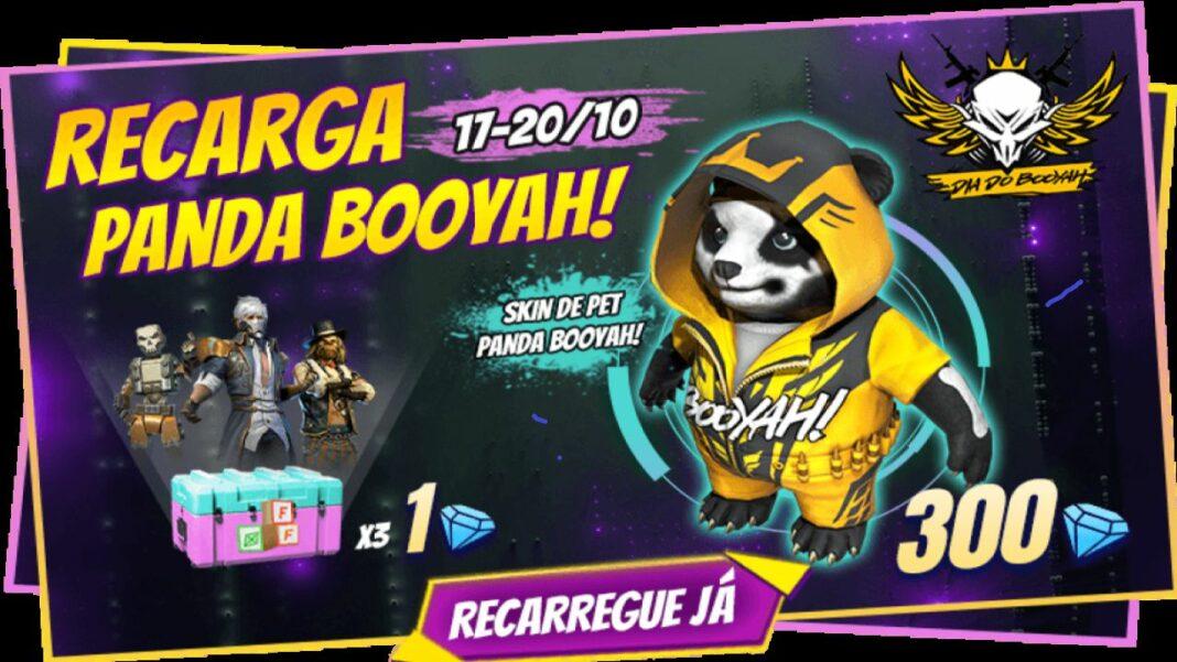 novo evento de recarga dia do booyah