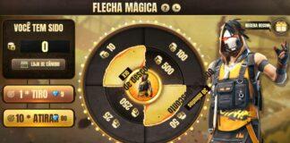 Flechas mágicas free fire