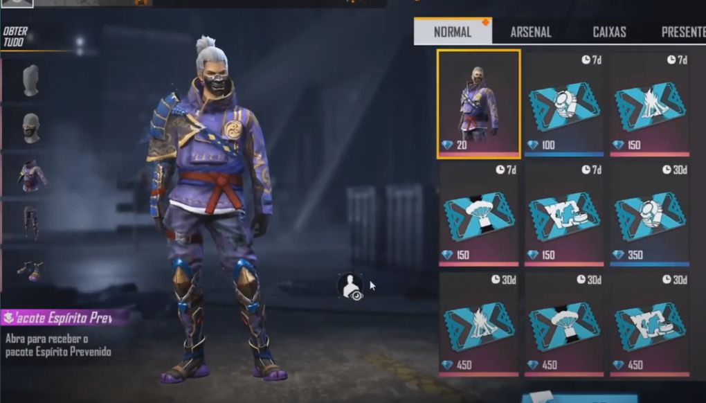 Samurai Reciclado ou Espírito Prevenido