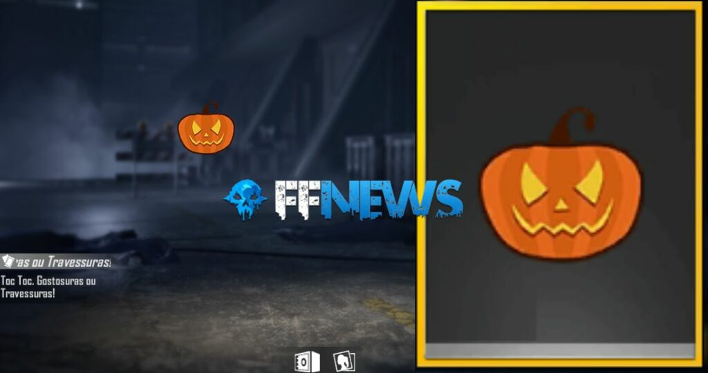 token gostosuras ou travessuras do evento especial de halloween ff