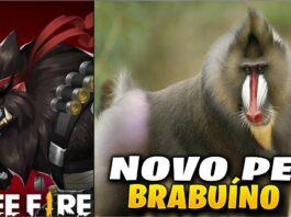pet brabuíno free fire