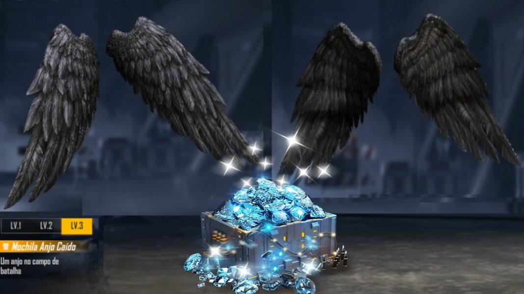 recambio de mochila de ángel caído