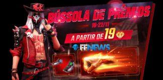 bussola de premios free fire