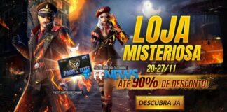 loja misteriosa 11 free fire