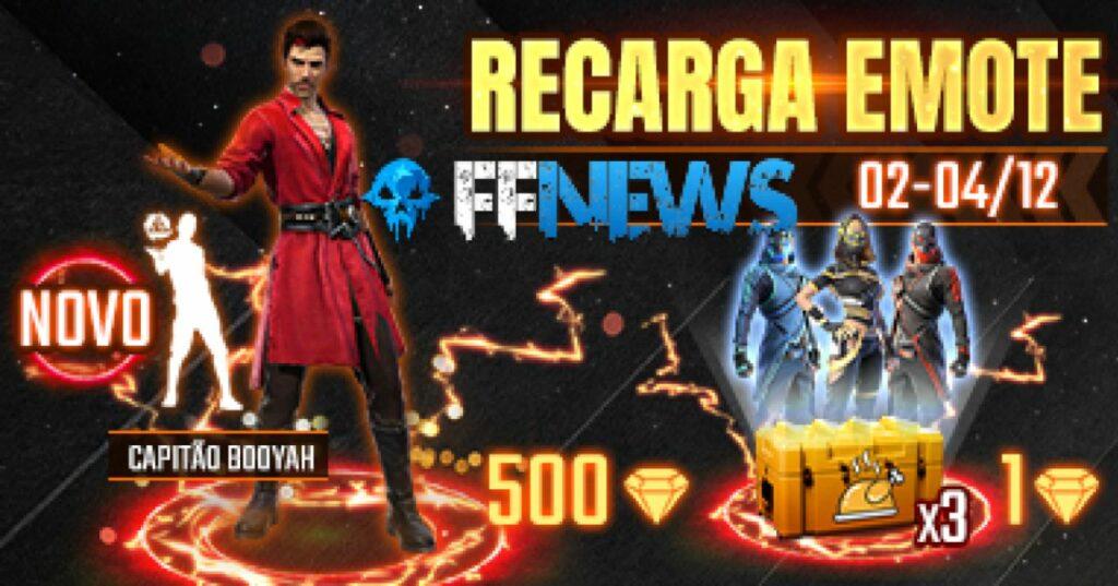 "emote recargar capitán booyah ""class ="" wp-image-13805 ""srcset ="" https://freefirenews.com/wp-content/uploads/2020/11/recarga_capitao_booyah_2_melhor-1024x537.jpg 1024w, https://freefirenews.com /wp-content/uploads/2020/11/recarga_capitao_booyah_2_melhor-300x157.jpg 300w, https://freefirenews.com/wp-content/uploads/2020/11/recarga_capitao_booyah_2_melhor-768x403.jpg 768firenews, https: // freefirenews /wp-content/uploads/2020/11/recarga_capitao_booyah_2_melhor-696x365.jpg 696w, https://freefirenews.com/wp-content/uploads/2020/11/recarga_capitao_booyah_2_melhor-1068x560.jpg 1068w, https: // freefirewsews /wp-content/uploads/2020/11/recarga_capitao_booyah_2_melhor-801x420.jpg 801w, https://freefirenews.com/wp-content/uploads/2020/11/recarga_capitao_booyah_2_melhor.jpg 1280w ""tamaños ="" (ancho máximo: 1024p ) 100vw, 1024px"