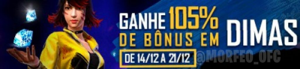 bonus 105% diamantes