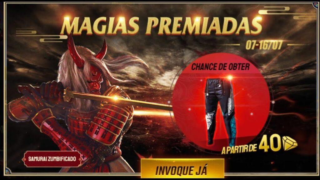 calça angelical - magias premiadas