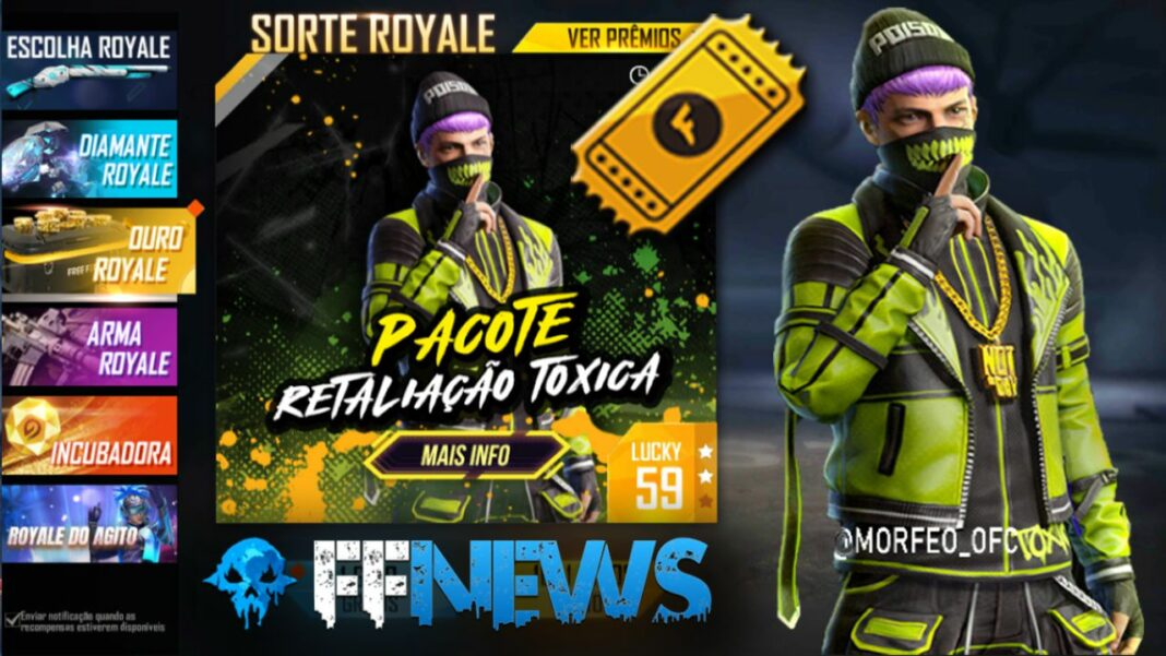 New Gold Royale Free Fire